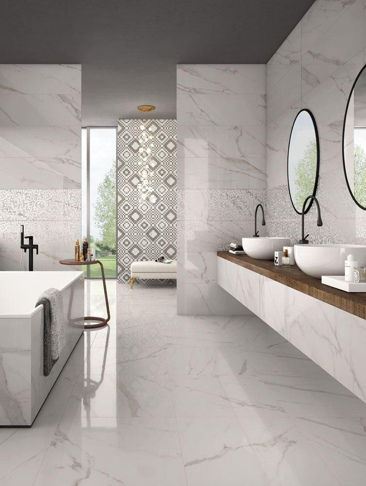 Trilogy Calacatta White